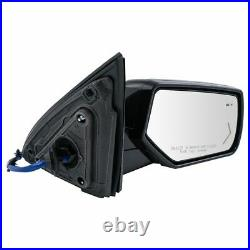 TRQ Mirror Power Folding Heated Turn Memory Blind Spot Performance Cap RH for GM