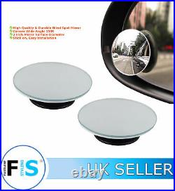 Universal Car Blind Spot Mirror Convex Wide View Angle 2 Way Mirror-min1