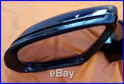 W213 Mercedes Mirror E Class Door Genuine Left Near Side Blind Spot Zone Black