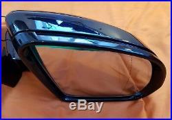 W213 Mercedes Mirror E Class Genuine Right Off Side Complete Blind Spot Zone