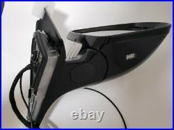 WHITE RIGHT SIDE PASSENGER MIRROR WithBLIND SPOT FOR MERCEDES C200 C250 C300 15-21